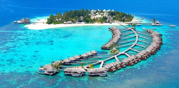 Fun Island Resort Maldives With Flight Ex Delhi Honeymoon